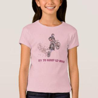 Girls Motocross Rider T-Shirt
