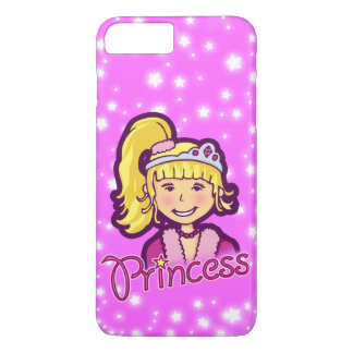 Girls named princess lilac pink iphone case