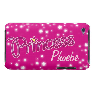 Girls named princess star graphic ipod touch case