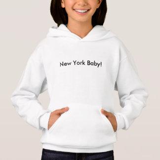 Girls' New York Baby Hanes ComfortBlend® Hoodie