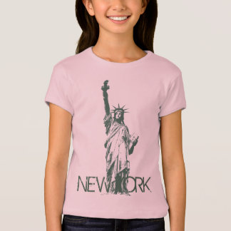 Girl's New York Tank Top Statue of Liberty Top
