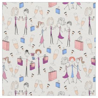 Girls Night Out Fabric