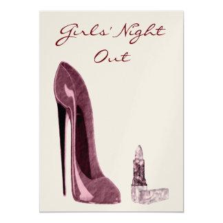 Girls' Night Out Invitation