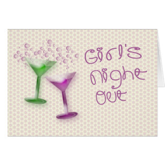 Girl's Night Out Invitation