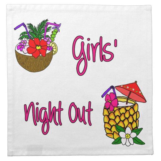 Girls' Night Out Napkin