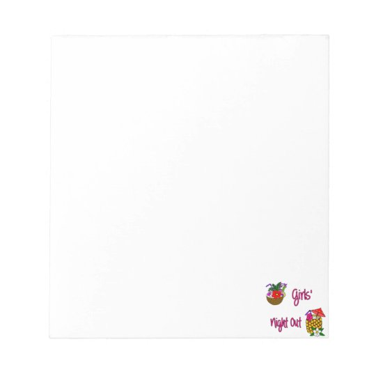 Girls' Night Out Notepad