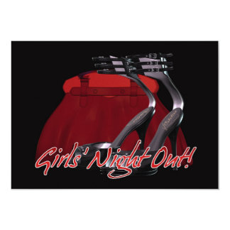 Girls' Night Out Party Invitation