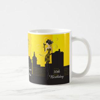 Girls Night Out - Yellow Coffee Mug