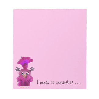 "Girl's Notepad ""Lila"""