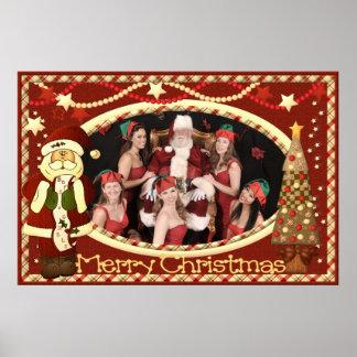 Girls of Swing Christmas Poster