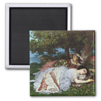 Girls on the Banks of the Seine, 1856-57 Magnet