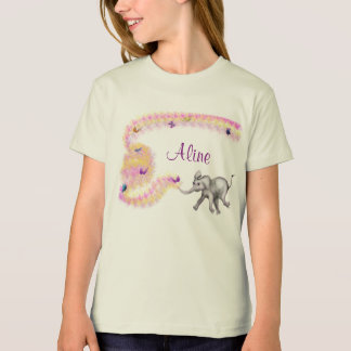 Girls' Organic T-Shirt - Fanti