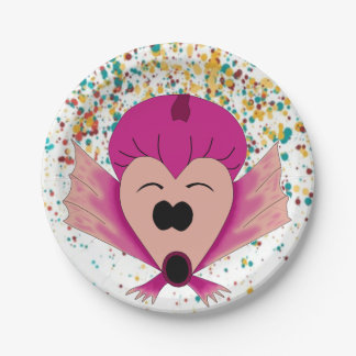 GIRLS' PARTY PLATE FOR CELEBRATION