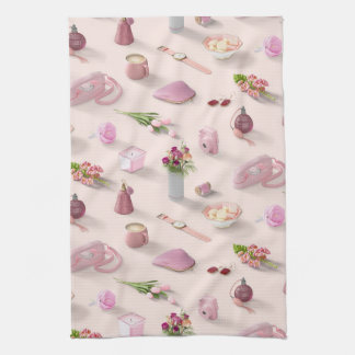 Girl's Pink Dream Kitchen Towel