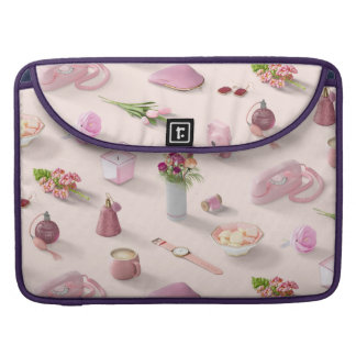 Girl's Pink Dream Sleeve For MacBooks