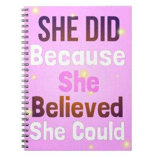 Girl's Pink Notebook   Girls' Firefly Journal