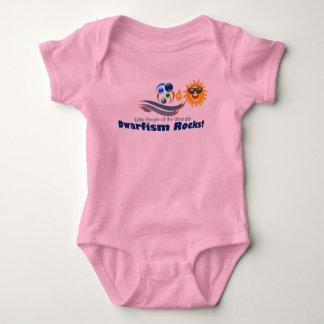 Girls Pink Support Baby Suit LPOTW Baby Bodysuit