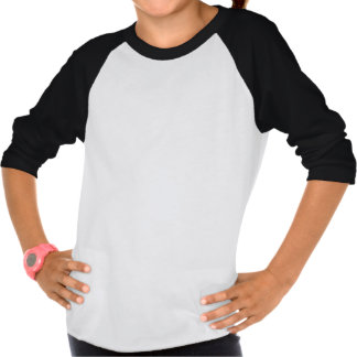 GIRLS POETIC JUSTICE THREE FOURTH SLEEVE T-SHIRT