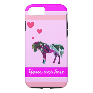 Girls Pony iPhone 7 Case