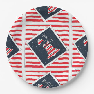 Girls' Pool Party 9 Inch Paper Plate