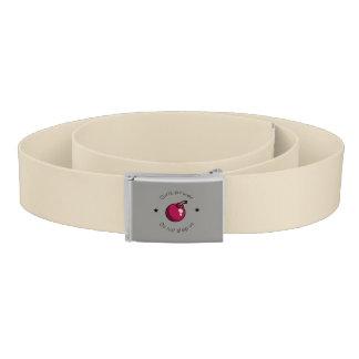Girls power belt