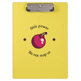 Girls power clipboard