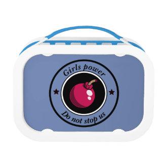 Girls power lunch box