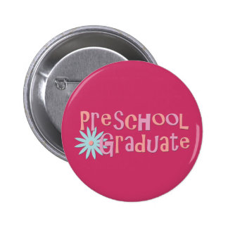 Girl's Preschool Graduation Gifts 2 Inch Round Button