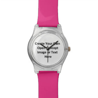 Girls Project, Pink, Create Your Own Open Concept Wrist Watch