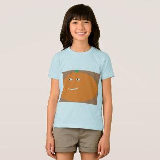 Girls pumpkin Halloween tshirt