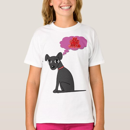Girls Puppy Love T T-Shirt