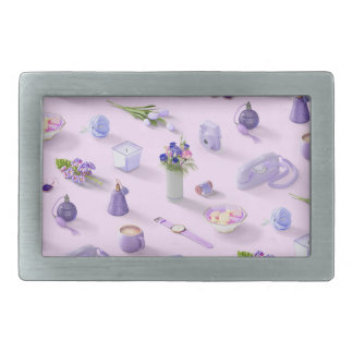 Girl's Purple Dream Belt Buckle