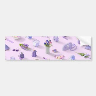 Girl's Purple Dream Bumper Sticker