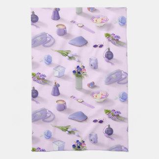 Girl's Purple Dream Hand Towel