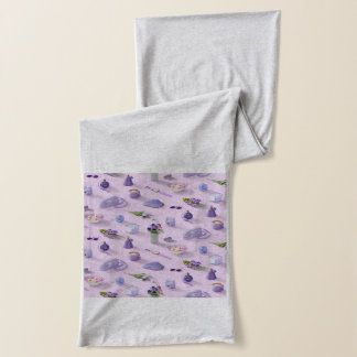Girl's Purple Dream Scarf
