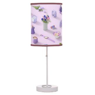 Girl's Purple Dream Table Lamp