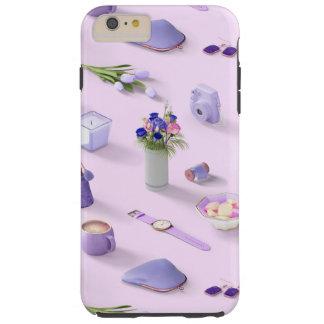 Girl's Purple Dream Tough iPhone 6 Plus Case
