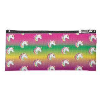 Girls Rainbow Unicorn Patterned Pencil Case