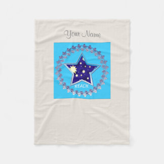 "Girls"" Reach for the Stars"" Fleece Blanket"