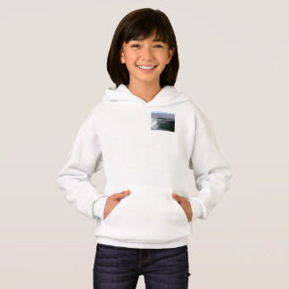 Girls Ride the Big #bluewave Sweatshirt Hoodie