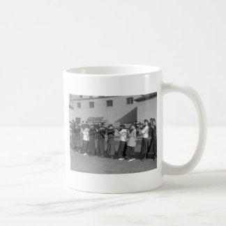 Girls Rifle Team, 1916 Classic White Coffee Mug