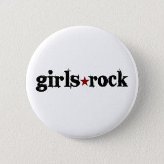 Girls Rock 2 Inch Round Button