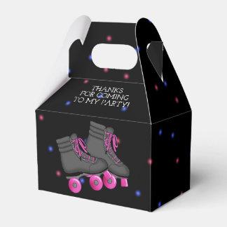 Girl's Roller Skate Birthday Party Favor Box