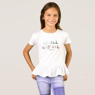Girls Ruffle T-Shirt