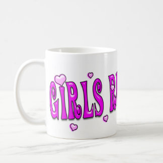 Girls Rule! Boys Drool! Mug