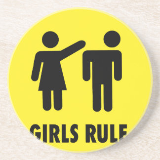 Girls rule coaster
