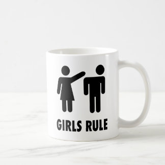 Girls Rule Coffee Mug