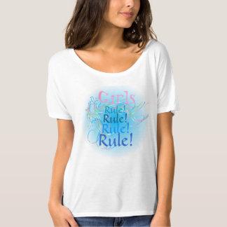 Girls Rule Design T-Shirt