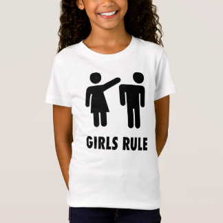 GIRLS RULE, Funny Girl Power T-shirts