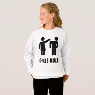 GIRLS RULE funny Girls T-shirts